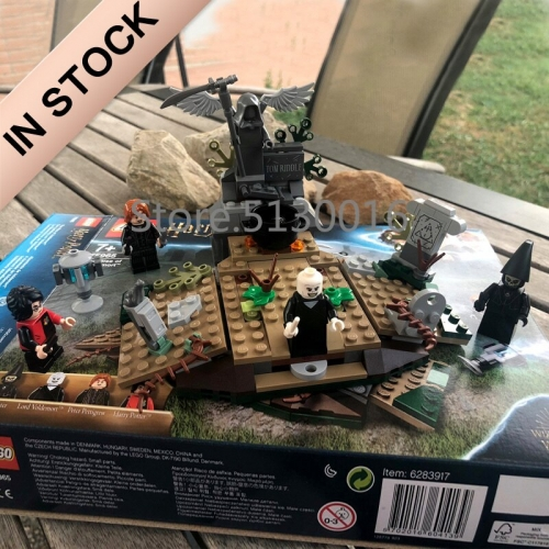 Harry Potter Series The Rise of Voldemort 184Pcs Building Blocks Bricks Toys Lego Compatible 11345 75965