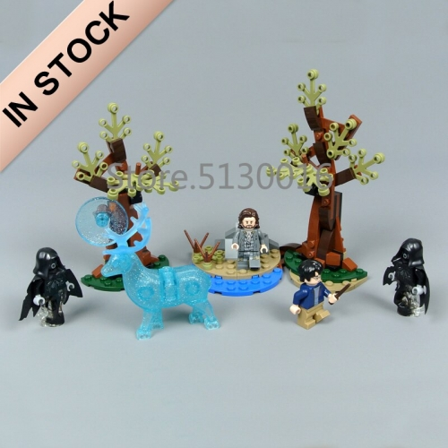 Harry Potter Series Expecto Patronum  121Pcs Building Blocks Bricks Toys Lego Compatible 11340 75945