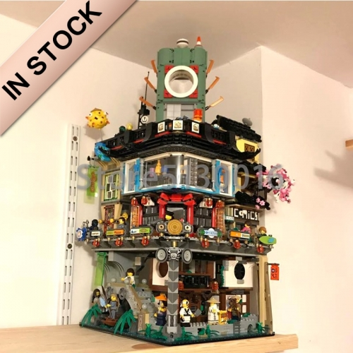 Ninjago Series  Ninjago City Construction 4953pcs building blocks bricks toys  Lego compatible 06066 70620 31086 10727 180091