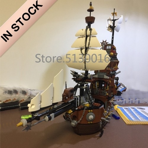 Pirates of The Caribbean Series The MetalBeard's Sea Cow Ship 2791Pcs Building Blocks Bricks Toys Lego Compatible 16002 70810 83002 180041