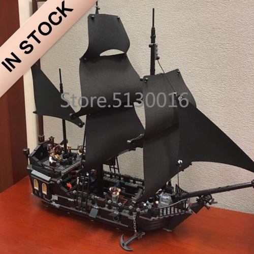 Pirates of the Caribbean Series The Black Pearl Ship 804Pcs Building Blocks Bricks Toys Lego Compatible 16006 39009 180045 4184 Ship From USA