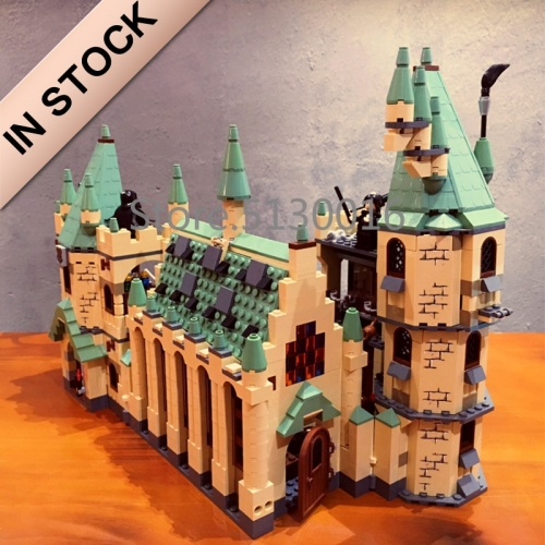 Harry Potter Magic And Mystery Haunt The Halls Of Hogwarts Castle 16030 1290Pcs Moc Model Modular Building Blocks Bricks Toys 4842