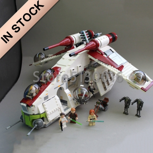 Star Wars Series The Republic Gunship 1175pcs Building Blocks bricks toys Lego compatible 75021 05041 180012 81043 ship from USA