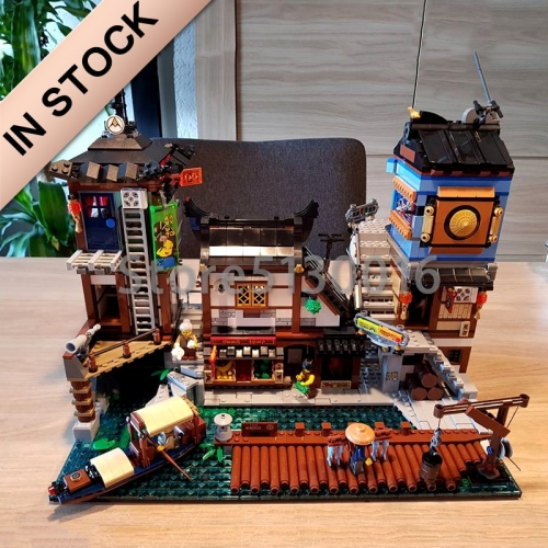 Ninjago Series The City Docks 3553pcs building blocks bricks toys  Lego compatible 06083 70657 1148 10941 LJ99016 89066 180093