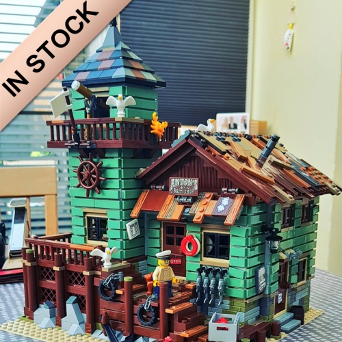 Ideas Old Fishing Store 2109pcs building blocks bricks toys 16050 21310 6004 ship from Europe Canada USA 30102