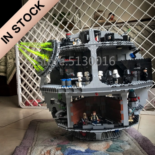 Star Wars Death Star 4016pcs building blocks bricks toys 05063 75159 81061 ship from Europe USA