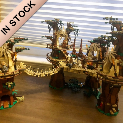 Star Wars Ewok Village 1990pcs building blocks bricks toys 10236 05047 81049 180016 2027 ship from Europe Canada USA