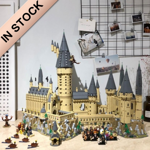 Ideas Harry Potter Hogwarts Castle 6020pcs Moc Model Modular Building Blocks Bricks Toys 71043 16060 39170 1192 11025 83037 180055 69500 S7306
