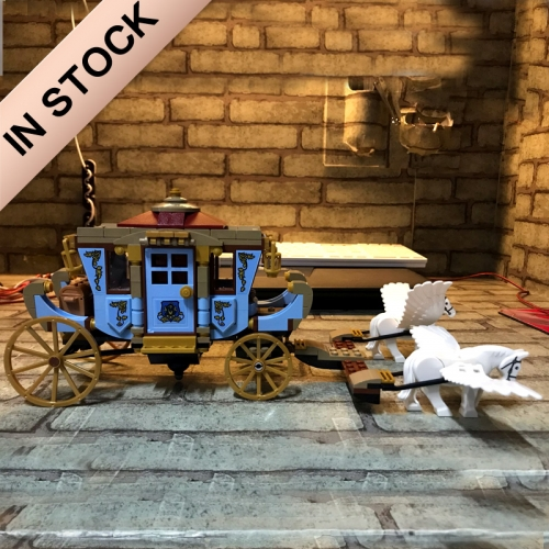 Harry Potter Beauxbatons' Carriage: Arrival at Hogwarts 430Pcs Moc Model Modular Building Blocks Bricks Toys  75958 11347