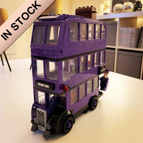 Harry Potter The Knight Bus 403Pcs Moc Model Modular Building Blocks Bricks Toys 75957 11342