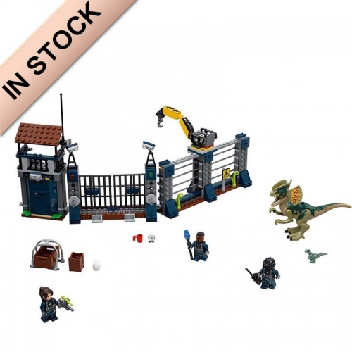 Jurassic World Dilophosaurus Outpost Attack 289 PCS building blocks bricks toys  75931 39113 1083 10923