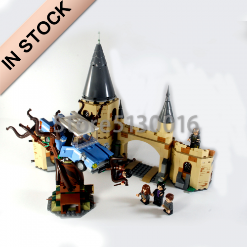 Harry Potter Hogwarts Whomping Wil-low 753Pcs Moc Model Modular Building Blocks Bricks Toys 75953  16054 39145 1206 11005