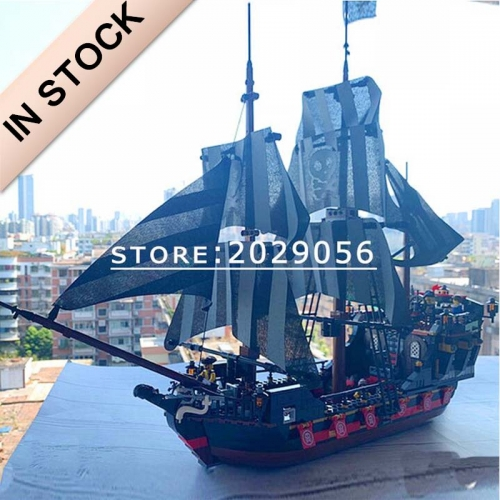 Pirates of the Caribbean Pirate Ship Skeleton Adventure 987 PCS MOC Modular building blocks bricks toys QL1801