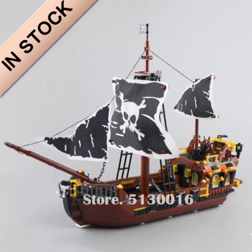 Pirates of the Caribbean Pirate Kingdom 722 PCS MOC Modular building blocks bricks toys QL1800