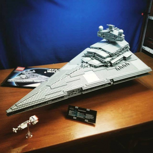 Star Wars Imperial Star Destroyer 3250pcs building blocks bricks toys 05027 10030 81029 ship from Europe USA