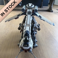 Republic Dropship with AT-OT Walker 1758pcs building blocks bricks toys 05053 ship from Canada USA