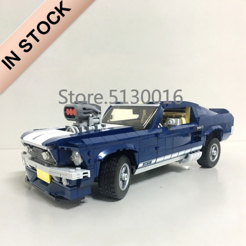 Technic Ford Mustanged Car 1471Pcs Moc Model Modular Building Blocks Bricks Toys 10265 21047 10258 20190