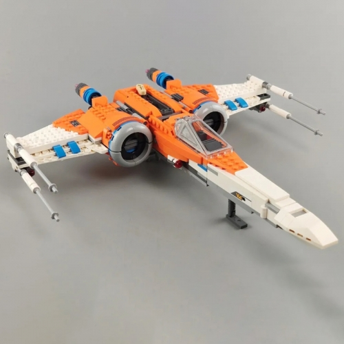 Star Wars Series Poe Dameron's X-wing Fighter Moc Model Modular Building Blocks Bricks 932Pcs Toys 60019 75273