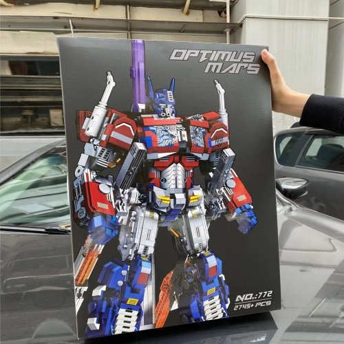 Ideas Transformers Optimus Mars 772 2745Pcs Moc Model Modular Robot Building Blocks Bricks Toys