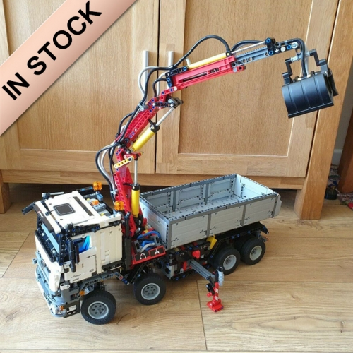 Technic Engineering Mercedes-Benz Arocs 3245 2793Pcs Moc Model Modular Building Blocks Bricks Toys 42043 20005 19007 90005 180097