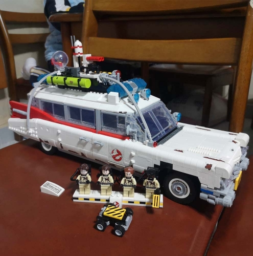 Ideas Movies Ghostbusters ECTO-1 81018 2868Pcs Moc Model Modular Building Blocks Bricks Toys Compatible 10274 81002 50016